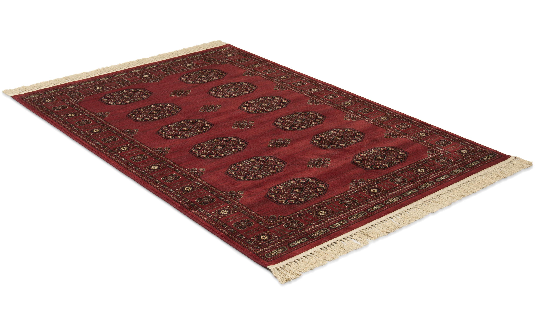 Image of   Afghan rød - kunstsilketæppe