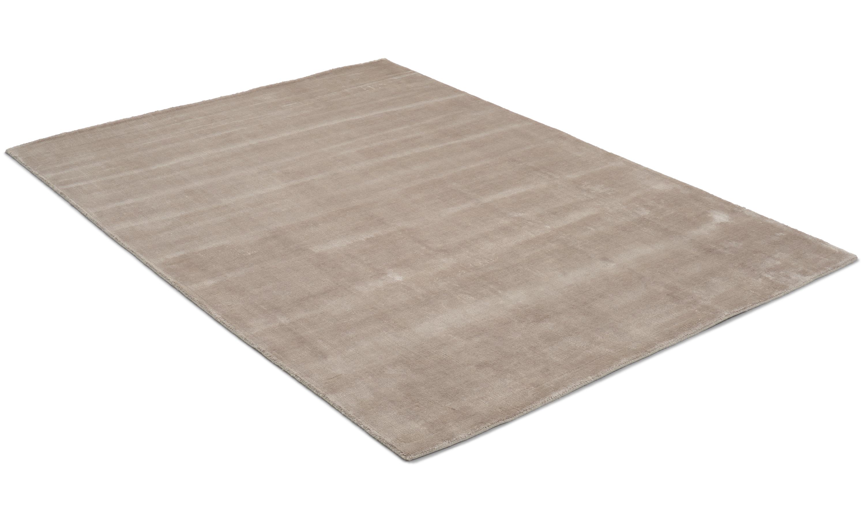Image of   Angel beige - håndvævet tæppe med luv