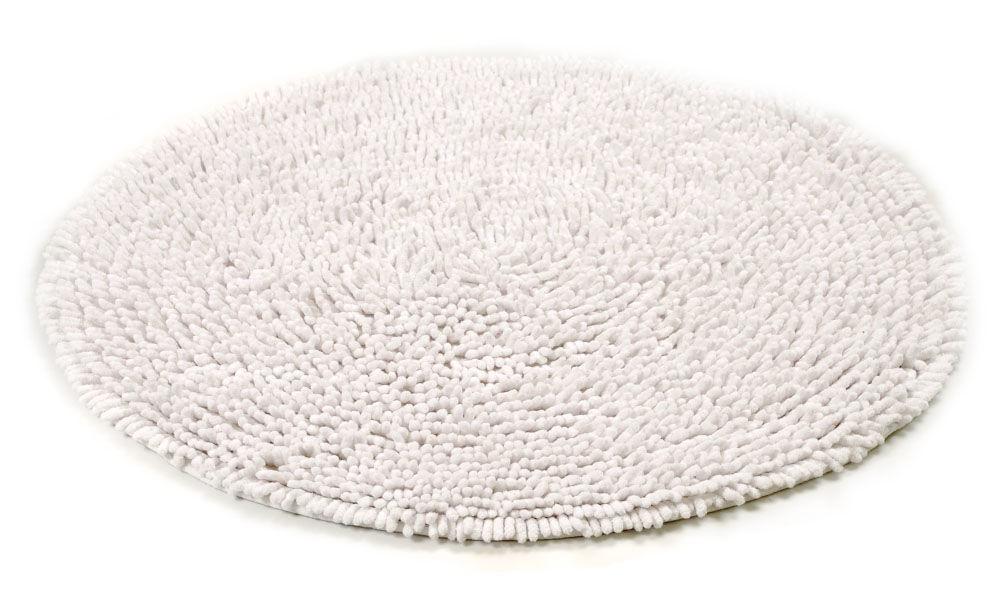 Image of   Rasta hvid - badeværelsesmåtte