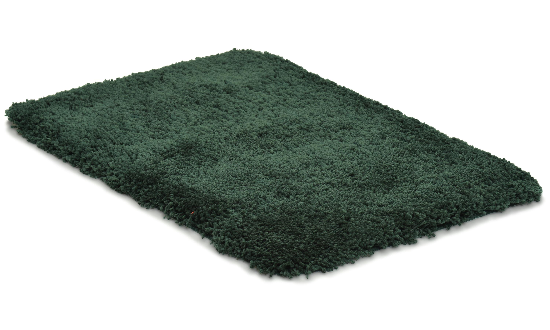 Image of   Highland dark green - badeværelsesmåtte