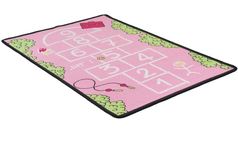 Image of   Paradis lyserød - børnetæppe