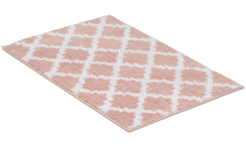 Image of   Bell lyserød - badeværelsesmåtte