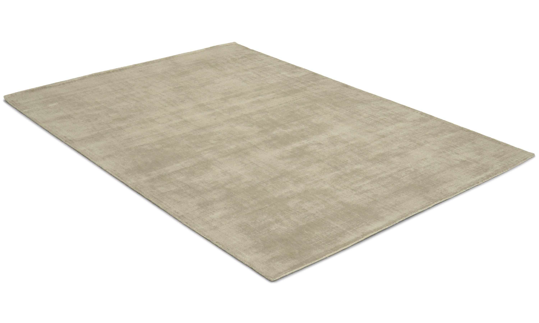 Image of   Bexley beige - håndvævet tæppe med luv