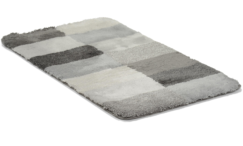 Image of   Blocks grå - badeværelsesmåtte
