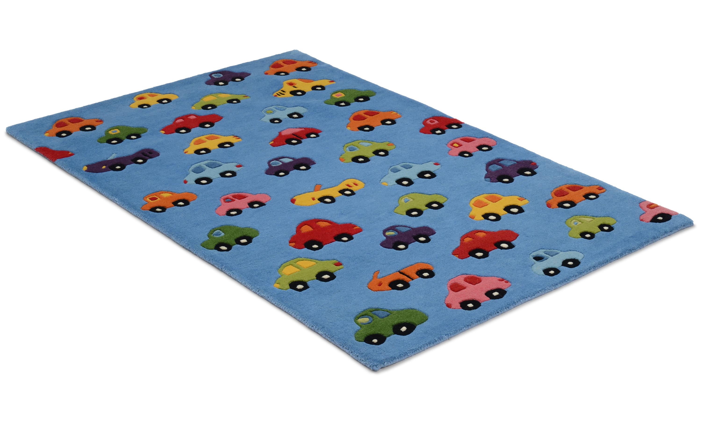 Image of   Cars blå - børnetæppe