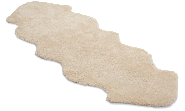 Image of   Dobbelt krøllet fåreskind - 30211 beige