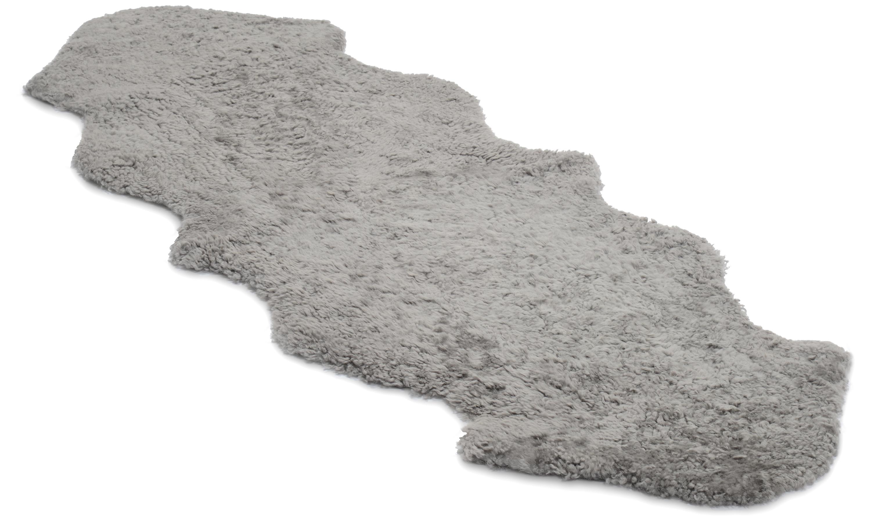 Image of   Dobbelt krøllet fåreskind - 30224 naturgrå