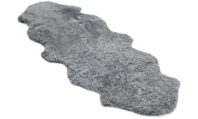 Image of   Dobbelt krøllet fåreskind - 30227 sølvgrå