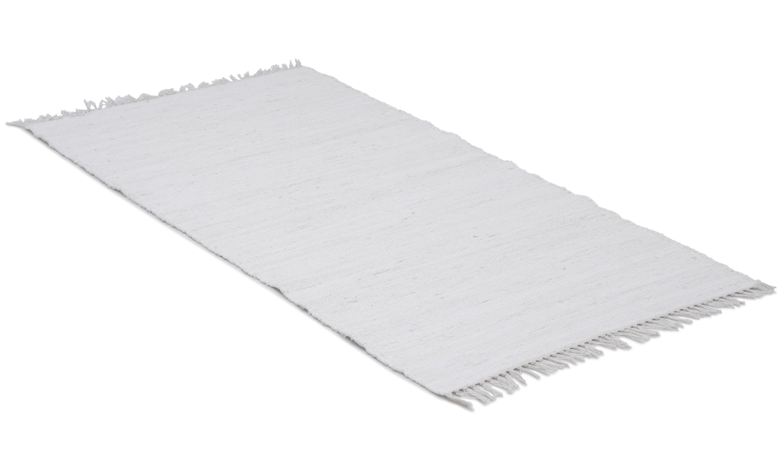 Image of   Cotton hvid - kludetæppe