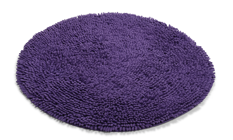 Image of   Rasta dyb lilla - badeværelsesmåtte