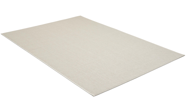Image of   Ohio sølv - glatvævet tæppe