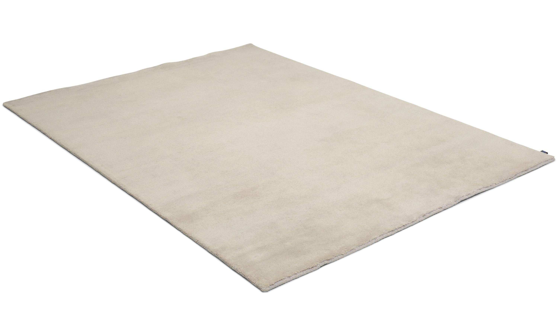 Nepali light grey - handknuten matta