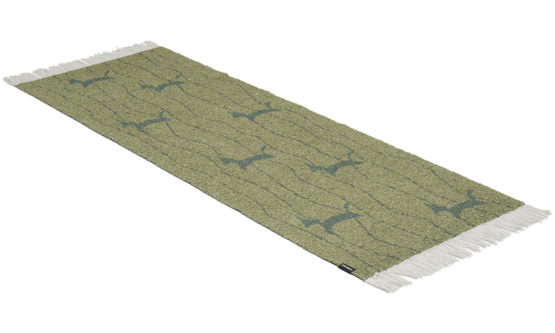 Image of   Fox grøn - plast- og garntæppe