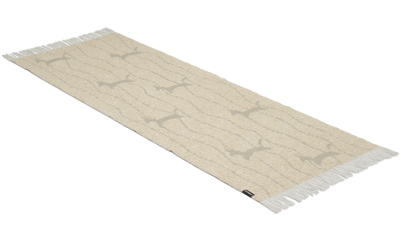 Image of   Fox sand - plast- og garntæppe