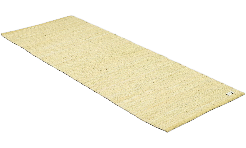 Cotton rug lemon - trasmatta