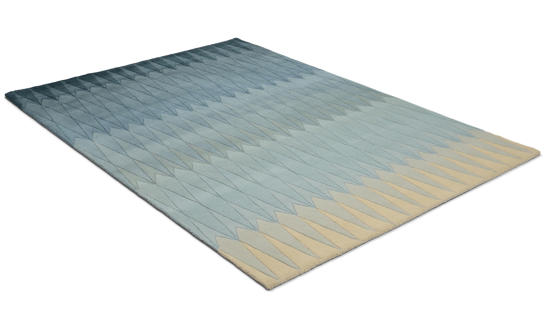 Image of   Acacia blue - håndtuftet tæppe med luv