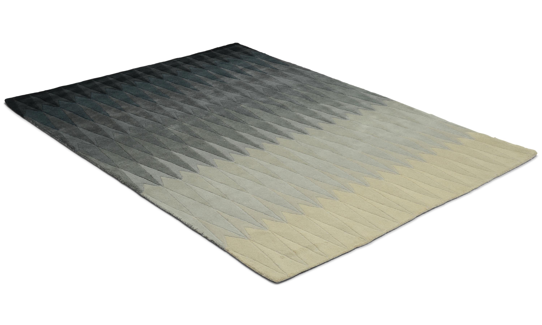 Image of   Acacia grey - håndtuftet tæppe med luv