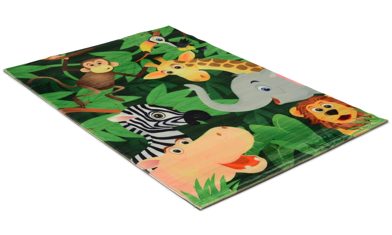Image of   Kids jungle - børnetæppe