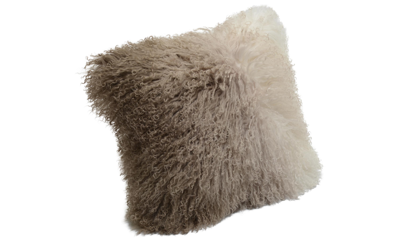 Image of   Shansi fåreskindshynde - degradé beige