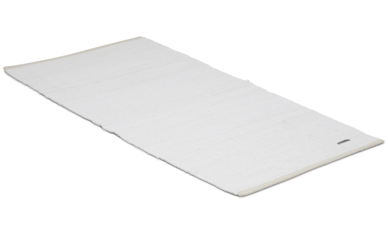 Cotton rug vit -  trasmatta