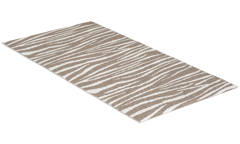 Zebra beige - plastmatta