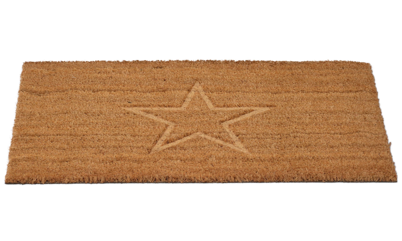 Image of   Cocos stjerne - dørmåtte