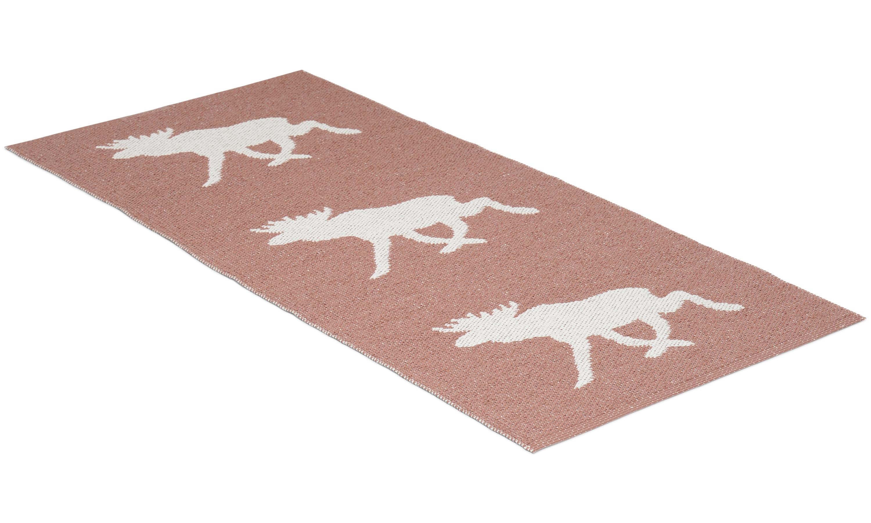 Moose rosa - plastmatta