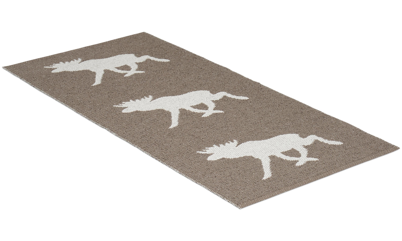 Moose brun - plastmatta