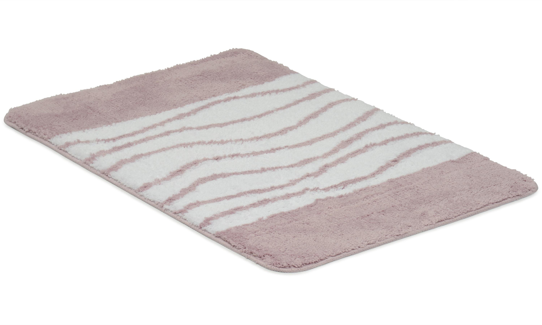 Image of   Lines rosa - badeværelsesmåtte