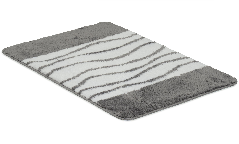 Image of   Lines grå - badeværelsesmåtte