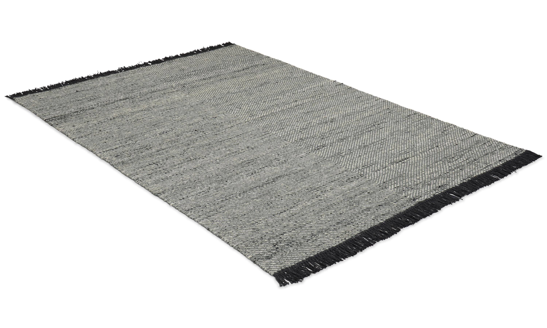 Molteno stone - handvävd ull- och viskosmatta
