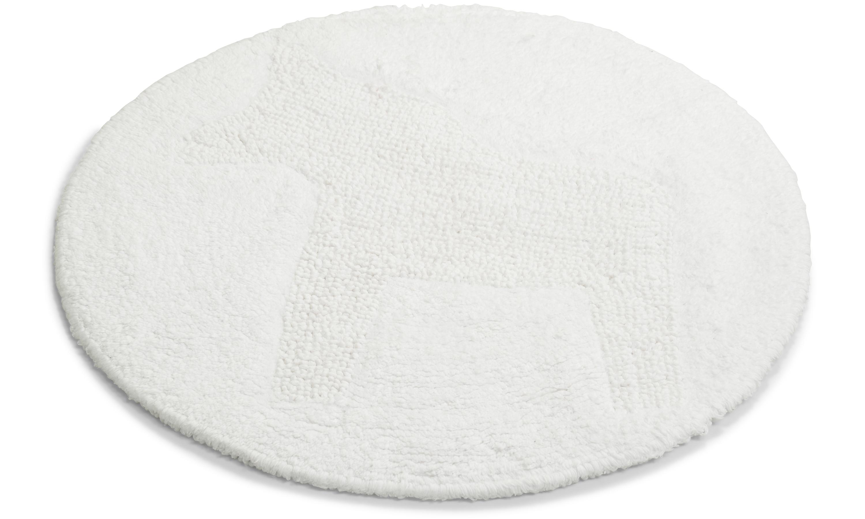 Image of   Dala hvid - badeværelsesmåtte