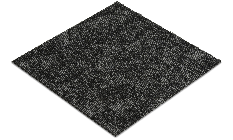 Image of Alberta mørkegrå m1 - tekstiltæppe