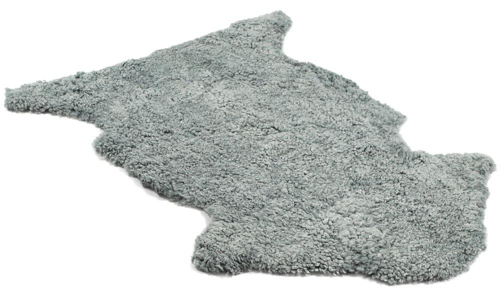 Image of   Krøllet fåreskind - lysegråt
