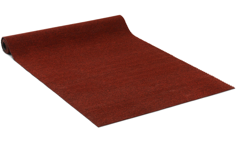 Image of   Cajun rød - entrémåtte i metervare