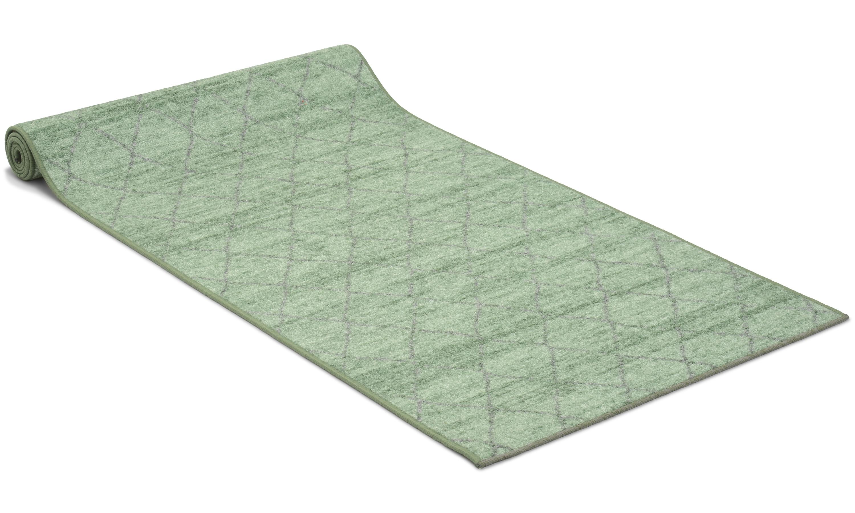 Image of   Galleri grøn - løber i metervare