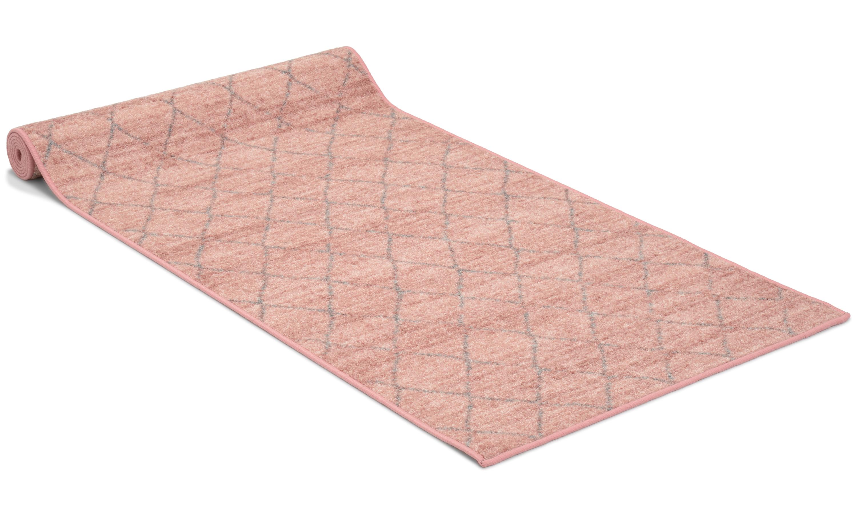 Image of   Galleri lyserød - løber i metervare