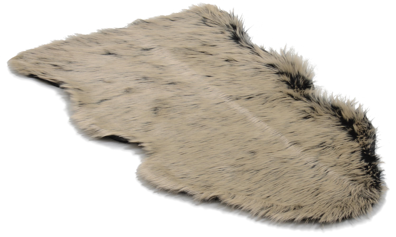 Image of   Hyggelig plaid - imiteret fåreskind