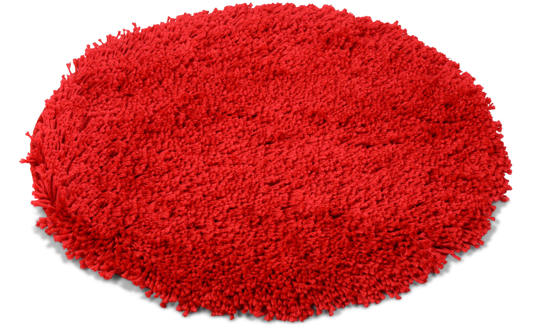 Image of   Highland rød - badeværelsesmåtte