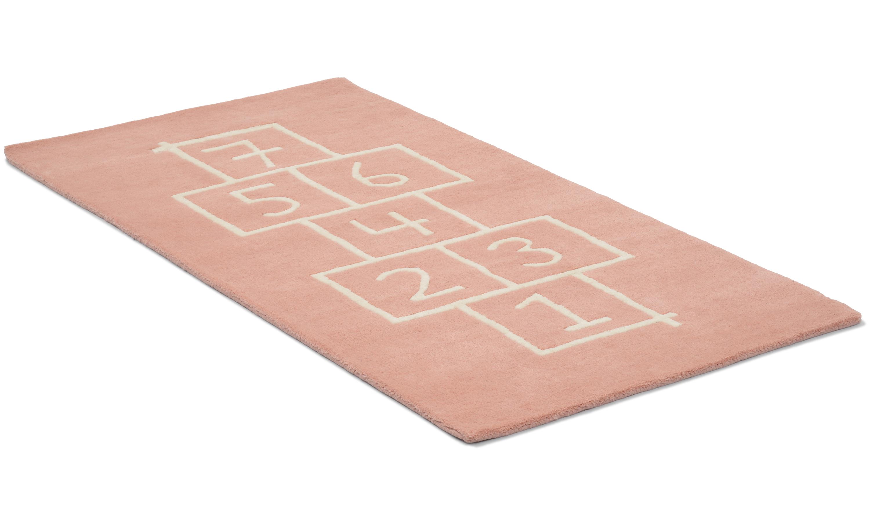 Image of   Hopscotch lyserød - børnetæppe
