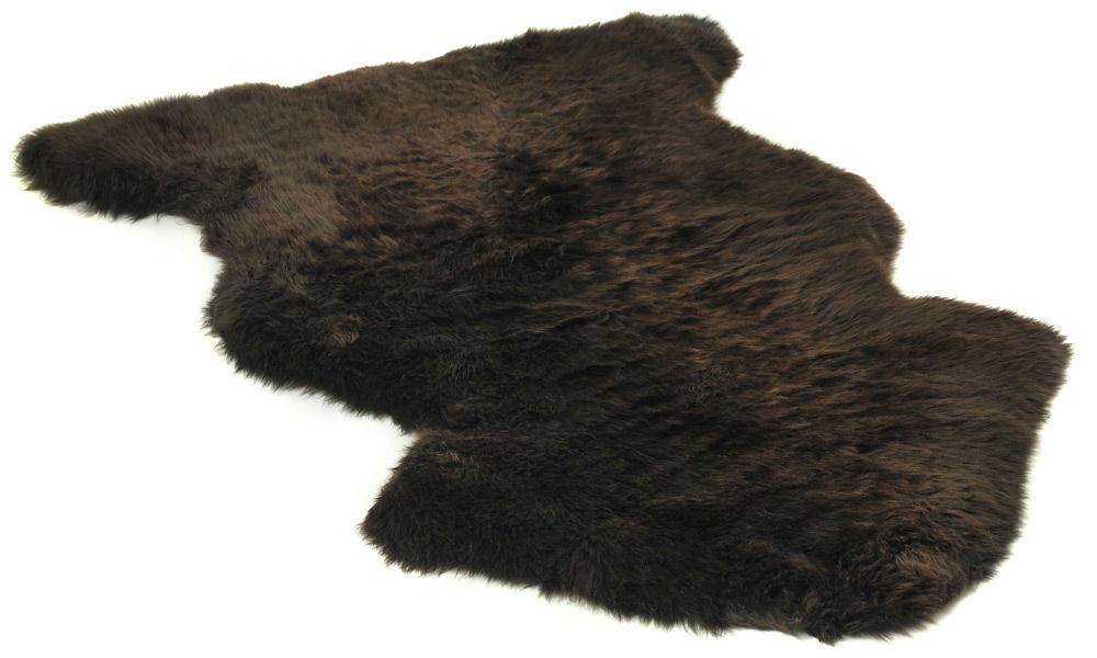 Image of   Langhåret fåreskind - mørkebrunt