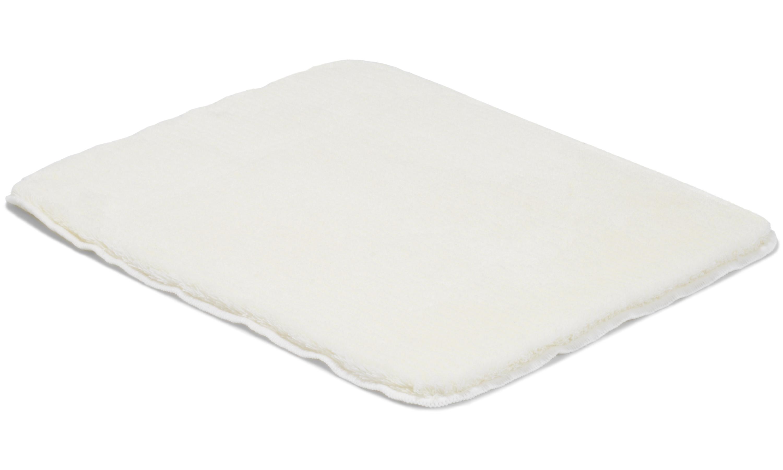 Image of   Minya hvid - badeværelsesmåtte