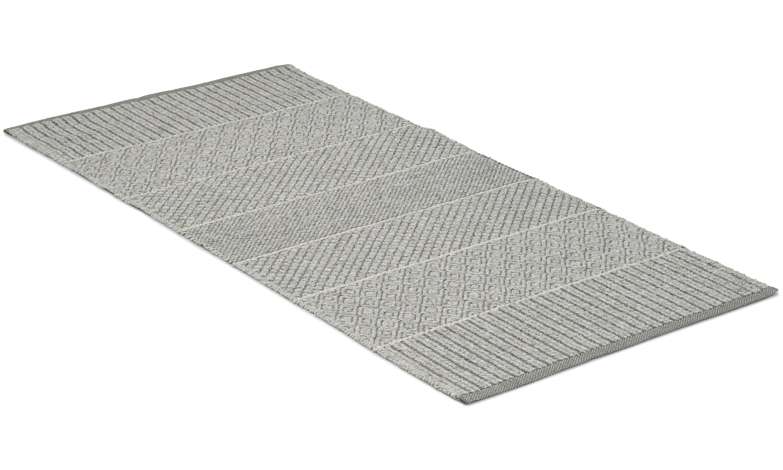 Image of Alice mix grå - plast- og garntæppe