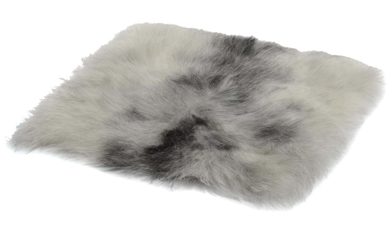 Image of   Nelly grey - firkantet stolehynde i fåreskind økologisk