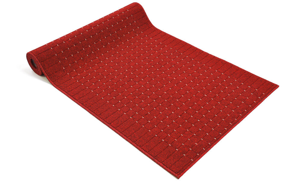 Image of   Pronto rød - løber i metervare