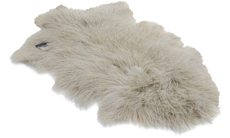 Image of   Shansi fåreskind - lysegrå snowtop