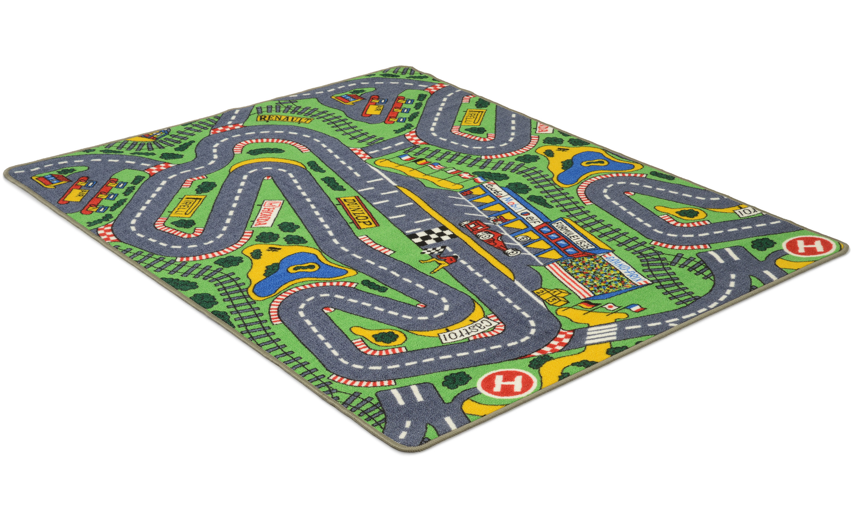 Image of   Trafik - biltæppe
