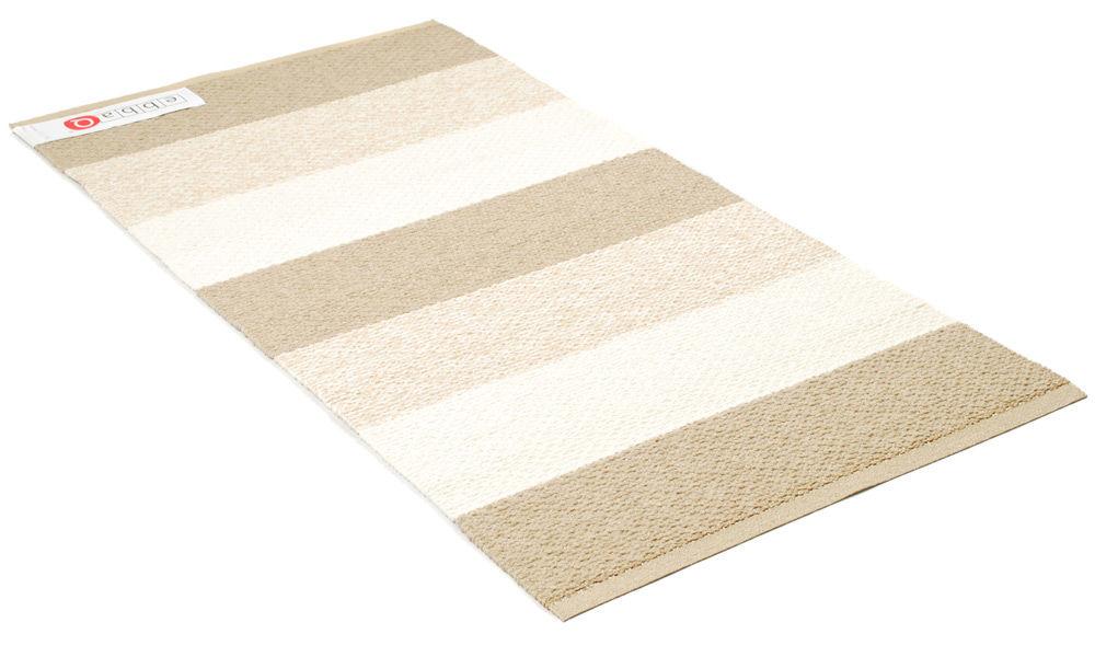 Klara Soft beige/vit - plast- och garnmatta