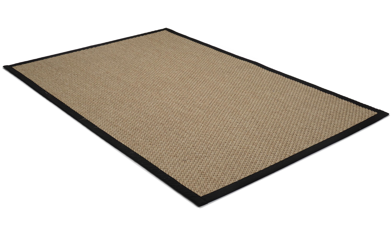 Image of   Barista beige - båndkantet tæppe