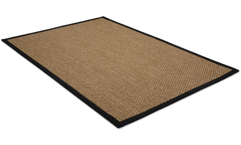 Image of   Barista brun - båndkantet tæppe